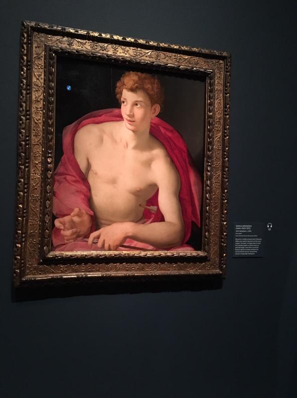 Agnolo Bronzino, Saint Sebastian 1533