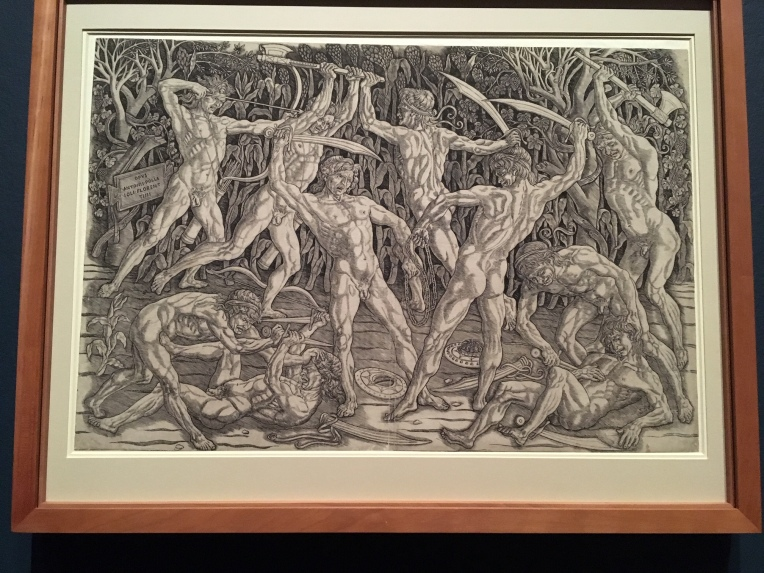 Antonio Pollaiulo Battle of the Nudes 1470s
