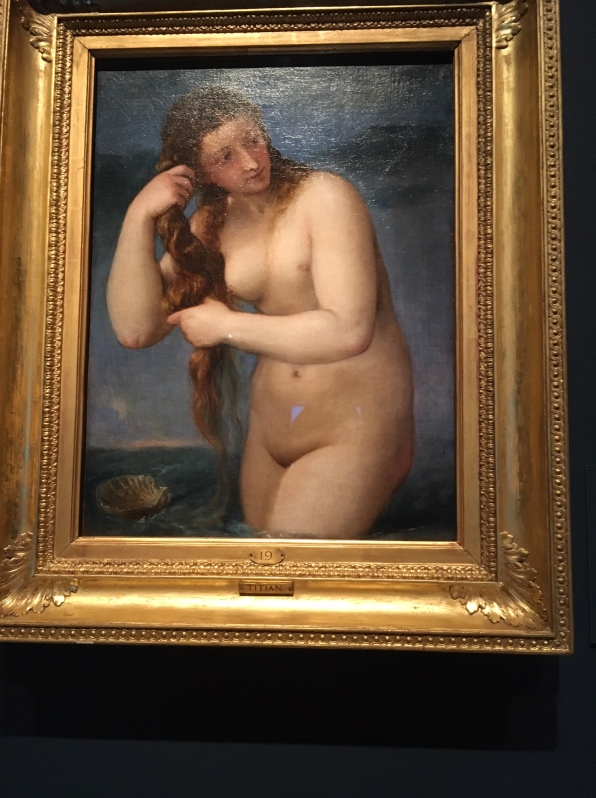 Titian, Venus Rising from the Sea 1520