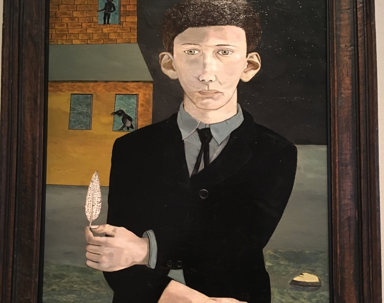 Man with a Feather, 1943