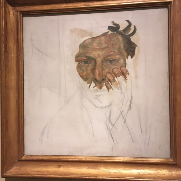 Self-portrait 1956