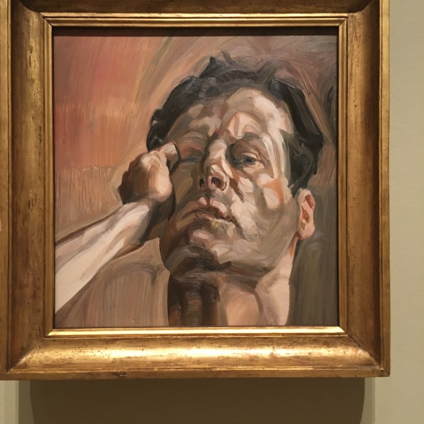 Man's Head, self-portrait 1963